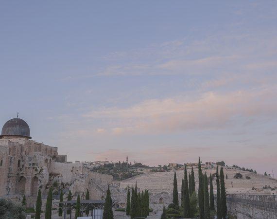 לקראת שקיעה בהר הזיתים-1ב