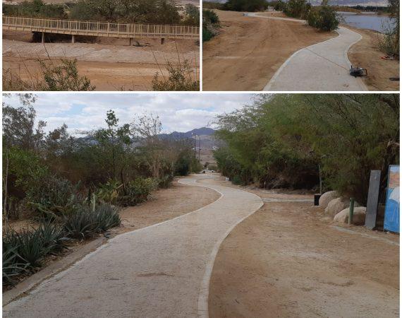 פיתוח ותשתיות פארק הצפרות אילת