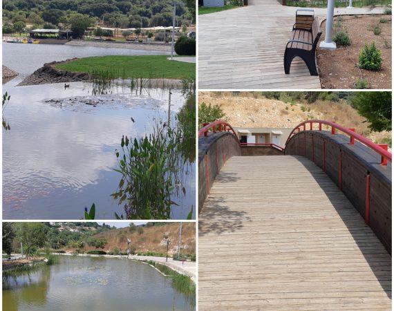 שדרוג אגם מונפורט